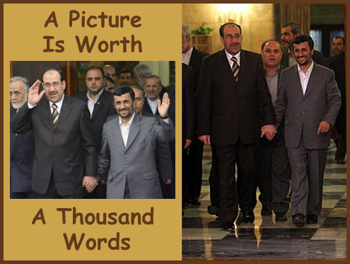 Ahmadinejad And al-Maliki