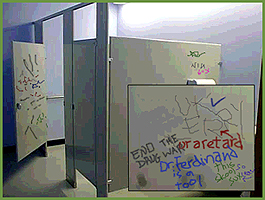The Writing On The Stall