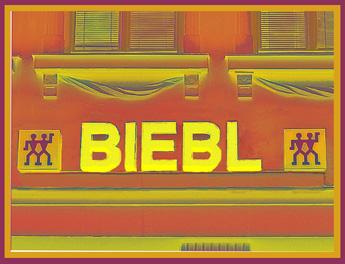 Store signage in Munich - 2004
