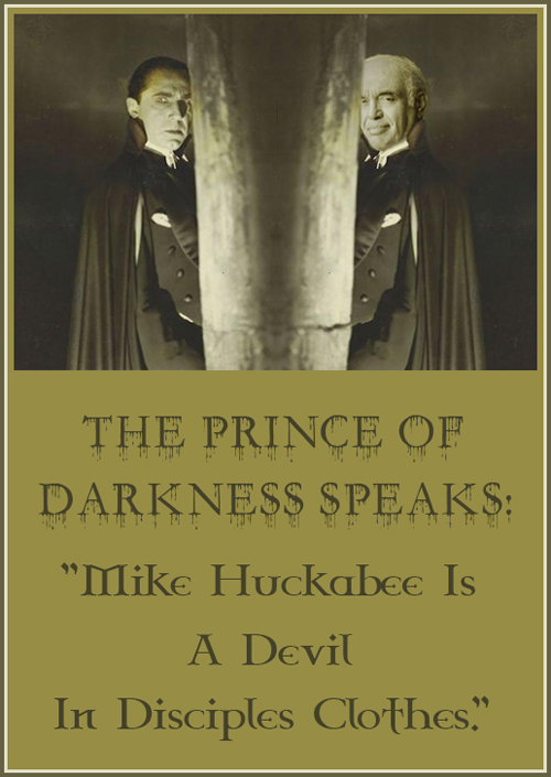 The Prince Of Darkness Speaks