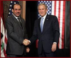 Bush And Maliki