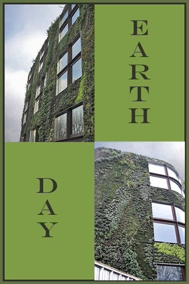 Earth Day - Building in Paris