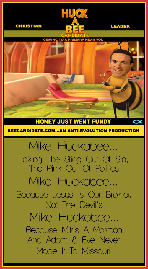 Candidate Huck-A-Bee