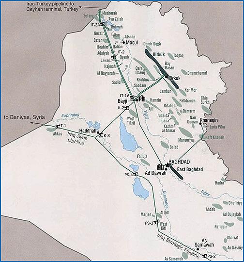 Iraqi Pipelines