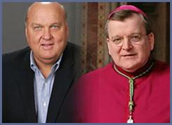 Rick Majerus & Archbishop Burke
