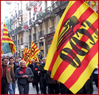 Labor March In Barcelona - 2004