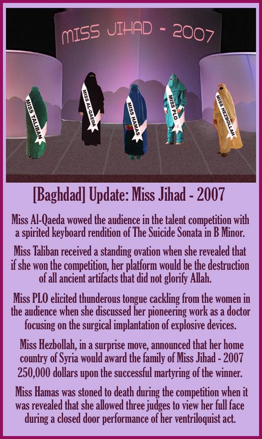 Miss Jihad - 2007