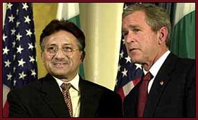 Musharraf And Bush