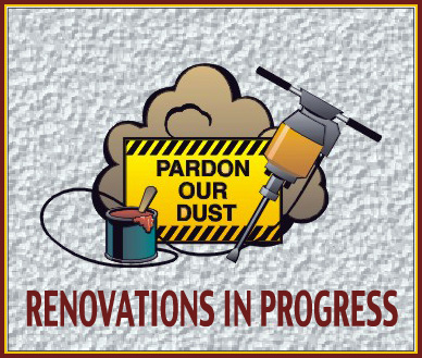 Renovations In Progress