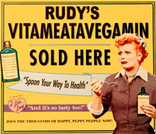 Rudy's Vitameatavegamin