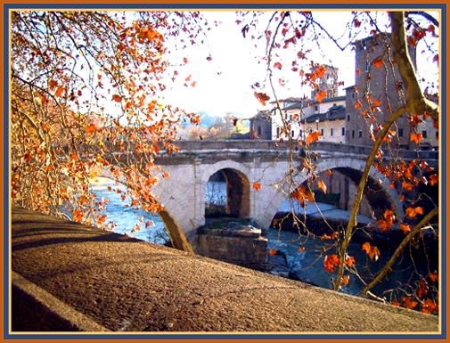 Tiber River in Rome - 2004