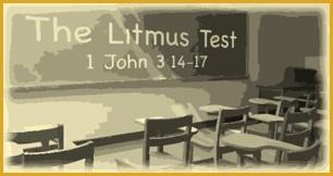 Religious Litmus Test