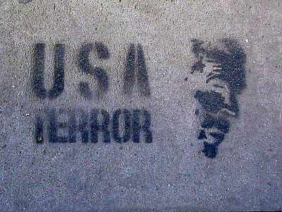 Anti-war graffiti in Italy
