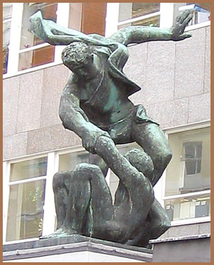 London sculpture - 2004