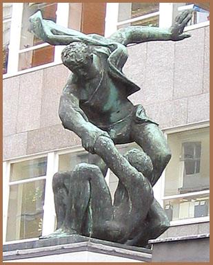 London sculpture - 2004