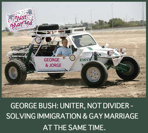 George Bush: Uniter, Not Divider