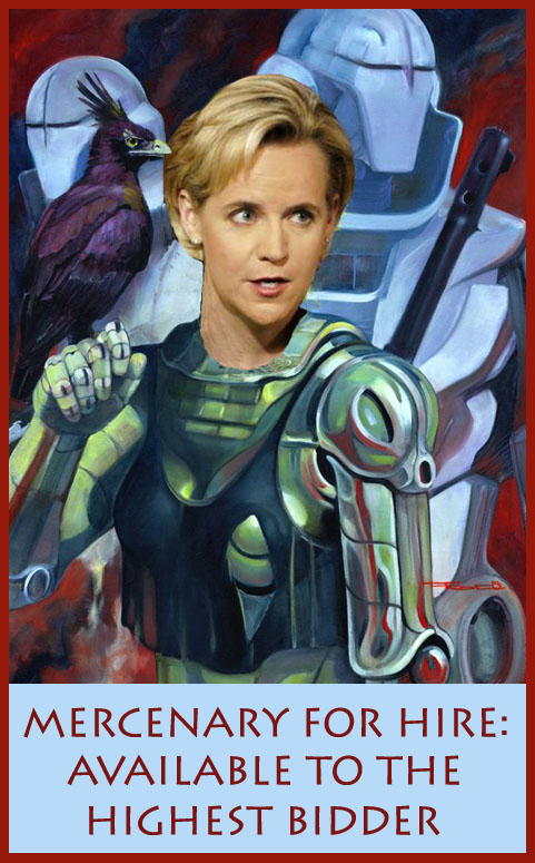 Mary Cheney Mercenary