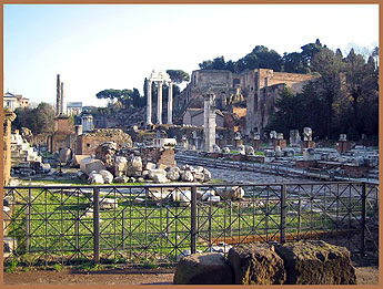 Ruins in Rome - 2004