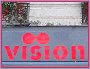 Store signage in Paris - 2004