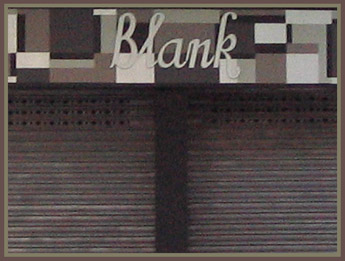 Store signage in Barcelona - 2004