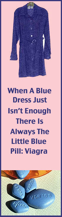 Blue dress - blue pill
