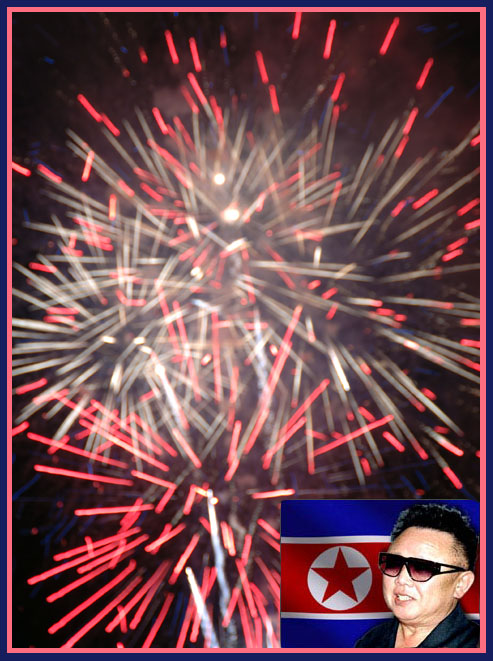 Happy 4th. from Kim Jong Ill