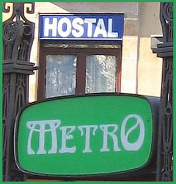 Hostal in Barcelona - 2004