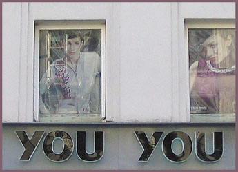 Store window in Amsterdam - 2004
