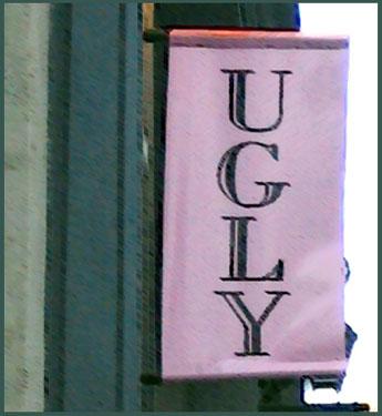 Paris store signage - 2004