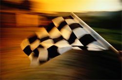 Chasing the checkered flag