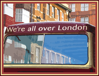 Bus in London - 2004
