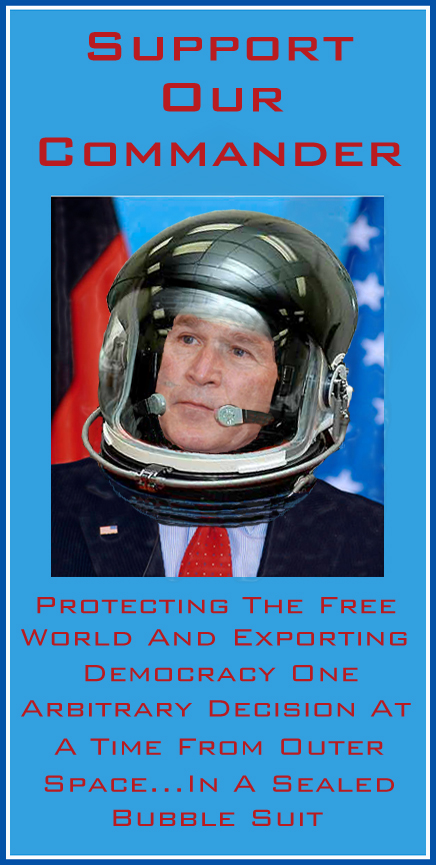 Commander In Chief George W